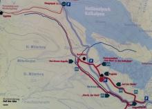 Hengstpass-Wanderung - Streckenplan