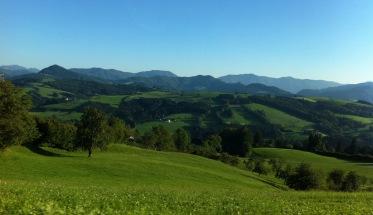Hügellandschaft in Niederösterreich (1)
